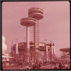 Collection of (95) Color Commercial Slides of the 1964 New York World's Fair.