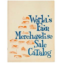 World's Fair Merchandise Sale Catalog.