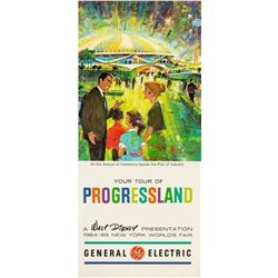 """Your Tour of Progressland"" Flyer."