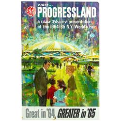 "Progressland ""Carousel of Progress"" Poster."