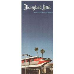 Disneyland Hotel Information Flyer and Brochure.