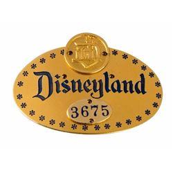 Early Disneyland Employee Badge.