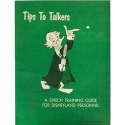 """Tips to Talkers"" Disneyland Speech Guide."