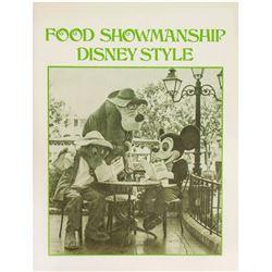 """Food Showmanship Disney Style"" Cast Member Guide."