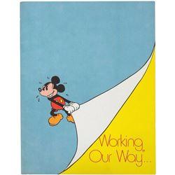 """Working, Our Way..."" Disney Employee Guidebook."