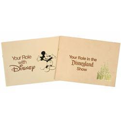 Disneyland & Disney Employee Booklets.
