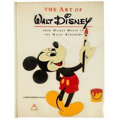 "Imagineers Multi-Signed ""The Art of Walt Disney"" Hardcover."