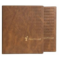 "Pair of Magic Kingdom Club ""Executive Club"" Binders."
