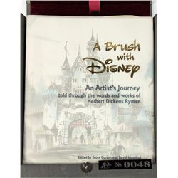 """A Brush with Disney"" Limited Edition Signed Book."