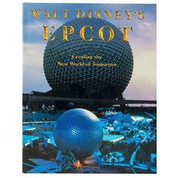 "Herb Ryman Signed ""EPCOT"" Grand Opening Book."