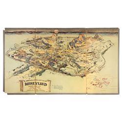 1953 Disneyland Presentation Map.