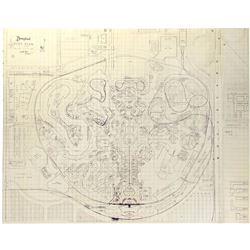 Disneyland Plot Plan.
