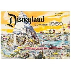 Disneyland Special Insert - Summer 1959.