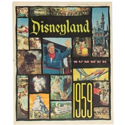 Disneyland Summer 1959 Newspaper Supplement.