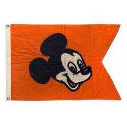 Disneyland Main Street Entrance Flag.
