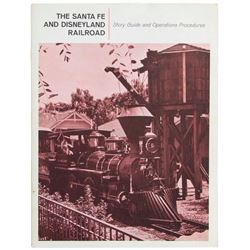 """Santa Fe & Disneyland Railroad"" Cast Member Manual."