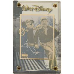 Walt Disney Limited Edition Metal Photo Card.