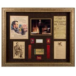 Great Moments with Mr. Lincoln  Framed Set.