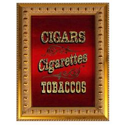 """Main Street Tobacco Shop"" Sign."