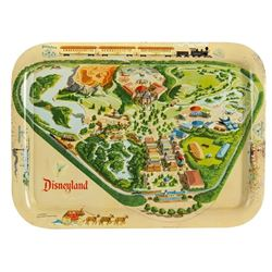 Disneyland Tin-Litho Tray.