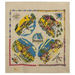 Hand-Painted Disneyland Decorative Towel.