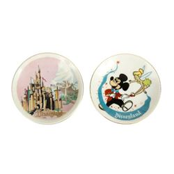 Pair of Small Disneyland Plates.