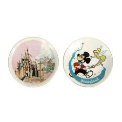 Pair of Small Disneyland Plates.