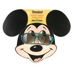 Mickey Mouse Sunglasses Paper Mask Display.