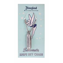 Disneyland Souvenir Knife Key Chain.