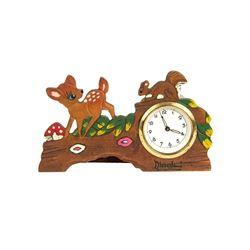 Disneyland Bambi Clock.