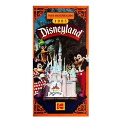 Disneyland 30th Anniversary Souvenir Guide.