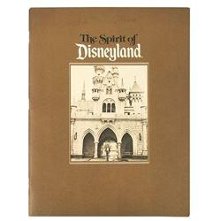 The Spirit of Disneyland  30th Anniversary Book.