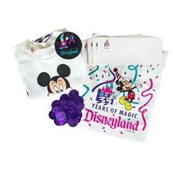 Collection of Disneyland 35th Anniversary Items.