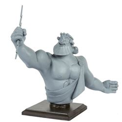 """Hercules Victory Parade"" Zeus Maquette by Kevin Kidney."