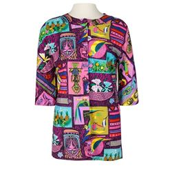 """Enchanted Tiki Room"" Cast Member Blouse - Pattern A."