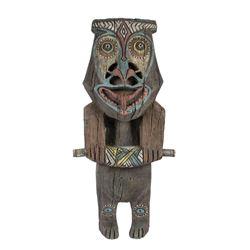 "Tahitian Terrace ""Rongo"" Tiki God."