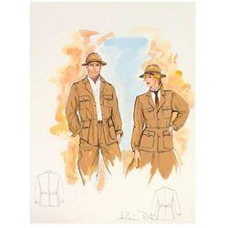 """Indiana Jones Adventure"" Wardrobe Jacket Designs."