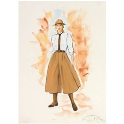 """Indiana Jones Adventure"" Wardrobe Design."