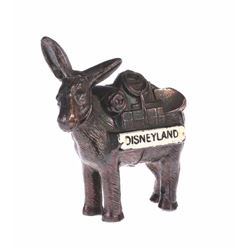 Disneyland Metal Donkey Figure.