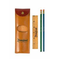 Disneyland Leather Pencil Case.