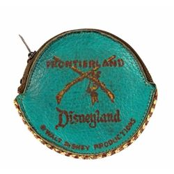 Frontierland Leather coin Purse.