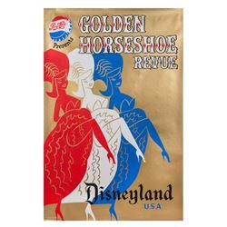 """""""Golden Horseshoe Revue"""" Attraction Poster."""