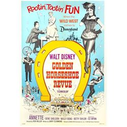"""Golden Horseshoe Revue"" Theatrical Poster."