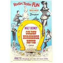 """Golden Horseshoe Revue"" Theatrical Poster."