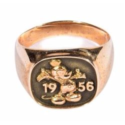 Betty Taylor's 20-Year Service Ring.