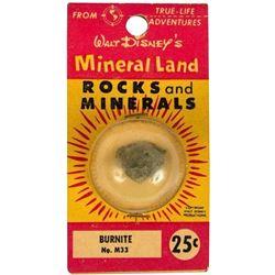 """Mineral Land Rocks and Minerals"" No.M33 - Burnite."