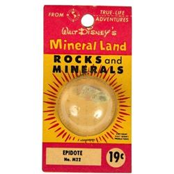 """Mineral Land Rocks and Minerals"" No.M22 - Epidote."