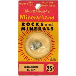 Mineral Land Rocks and Minerals  No.M37 - Labradorite.
