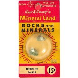 """""""Mineral Land Rocks and Minerals"""" No.M15 - Tremolite."""