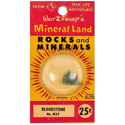 """Mineral Land Rocks and Minerals"" No.M14 - Olivine."